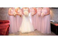 6 beautiful bridesmaids' dresses - Blush Pink