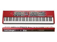 Nord stage 2 stage piano synth organ - the best sounds and action