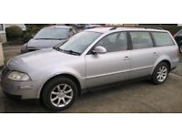 VW Passat Estate, 1.9Tdi 130 Highline. Spares or repair.