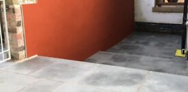 Kandla Grey Indian Sandstone Sawn and Honed paving - Approx. 8m²