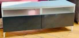 IKEA BESTA Tv Bench. As new condition. Cost £165 new.