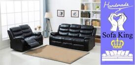 HALF PRICE LEATHER RECLINER SOFAS, CHAIRS AND CORNER GROUPS - FROM £225