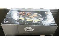 Swan stone oval raclette
