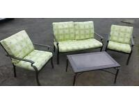 4 piece Conservatory furniture set chairs table