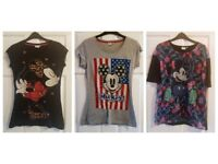 Must Go | House Clearance | Used Women's Disney Top Bundle | Size 12 | Various Designs | Primark