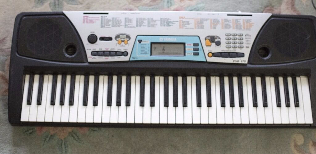 Yamaha Psr 170 Full Size Keys With Midi Learning System