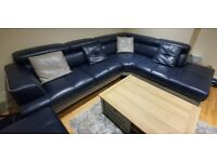 DFS Stage Leather Corner Suite