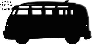 VW Bus Laser Cut Out Silhouette 6x13.5