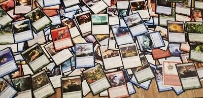 Lot De 200 Cartes Magic The Gathering Communes toutes générations