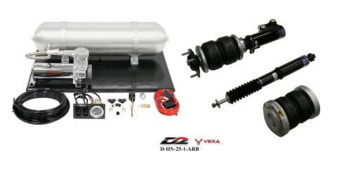 D2 Air Struts + Vera Basic Air Suspension For 2006-2011 Sedan Coupe Si Fd Fa Fg
