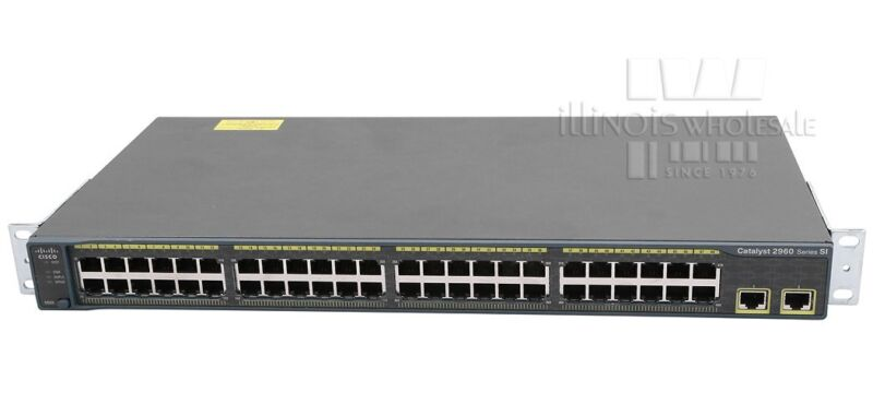 Cisco Catalyst 2960 Series Si 48-port Ethernet Switch