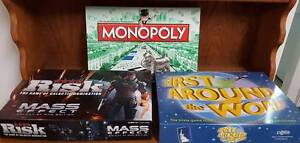 Risk, Monopoly & First Around the World Leeming Melville Area Preview