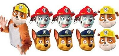 Paw Patrol Party Masks 2 packages = 16](Paw Patrol Masks)