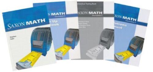 Saxon Math Complete Homeschool Intermediate Grade 5 Package NEW!