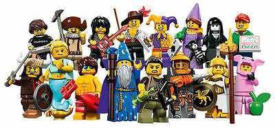 LEGO 71007 - Series 12 Minifigures - Complete Set of 16 - New in Pkg