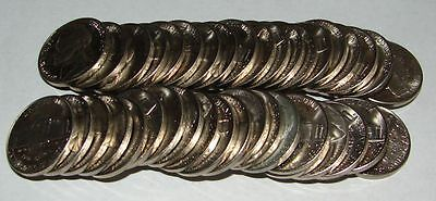 1999 P UNCIRCULATED 5 CENT NICKEL ROLL OF 40  MINT STATE COINS K4