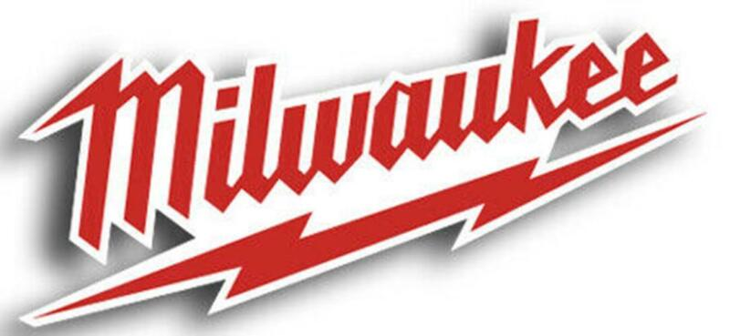Milwaukee Tools Logo Sticker / Vinyl Decal  | 10 Sizes!! with TRACKING!