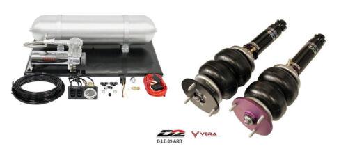 D2 Air Struts + Vera Basic Air Suspension For 1989-2000 Lexus Ls400 D-le-09-arb