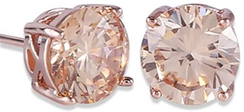 GULICX Rose Gold Tone Yellow Crystal Royal Journey Jewelry