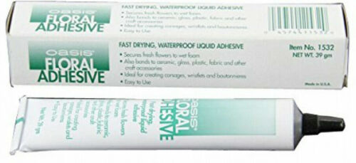 Oasis Floral Adhesive Tube Flower Glue Fresh & Artificial 39gm Waterproof Liquid