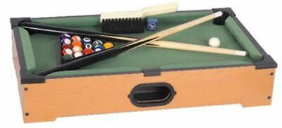 "21"" Small Desktop Miniature Tabletop Mini Toy Billiard Pool Table Top, used for sale  Banning"