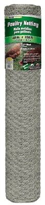 2 Midwest 48 X 150 Roll 2 Mesh Galvanized Poultry Net Chicken Wire-308496b