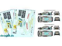 "1//43 decal mercedes benz c63 AMG /""Petronas syntium/"" DTM 2015"