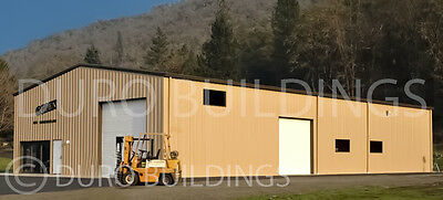 DuroBEAM Blade 50x50x18 Metal Garage Workshop Building Prefab Structure DiRECT