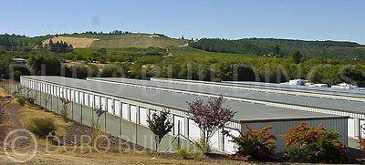 Duro Steel Mini Self Storage Structures 20x300x8.5 Metal Prefab Building Direct