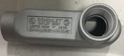 Lb39 Crouse Hinds 1-inch Hub Size Style-lb Mark 9 Condulet Conduit Outlet Thread