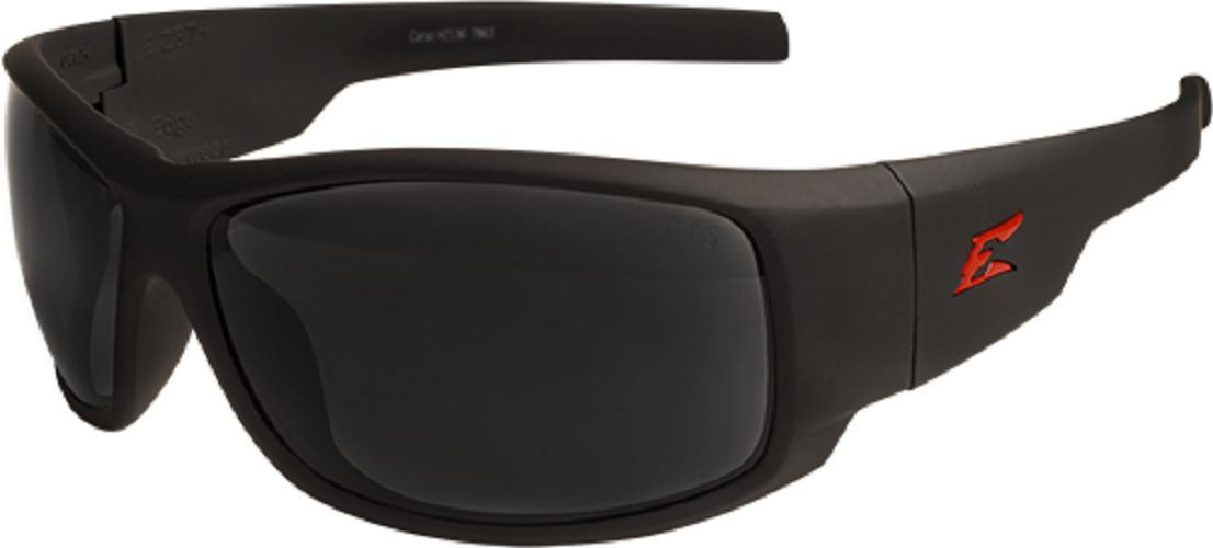 Edge Eyewear HZ136 Caraz Torque Matte Black / Smoke Lenses -