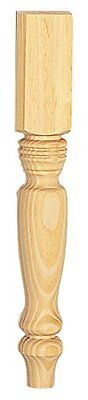 (Waddell Manufacturing 2912 15-1/4-Inch Country Pine Table Leg)