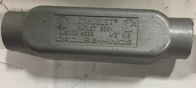 C19 Crouse Hinds 12-inch Hub Size Style-e Mark 9 Condulet Conduit Outlet Thread