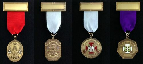 Scottish Rite Past Presiding Officer Jewel Set (4SRJ-1S)