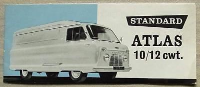 STANDARD ATLAS 10/12 cwt VAN & PICK UP Sales Brochure Feb 1959 #279/2/59