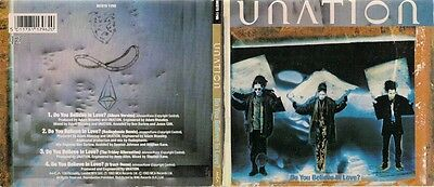 Unation Do You Believe In Love Gatefold Digipack Uk Cd Single