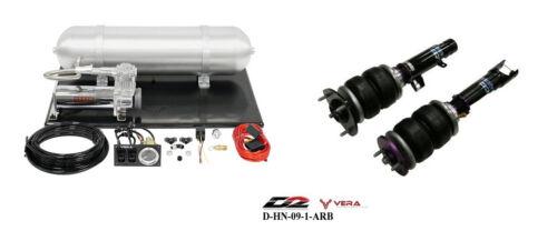 D2 Air Struts + Vera Basic Air Suspension For 2013+ Honda Accord 2015+ Acura Tlx