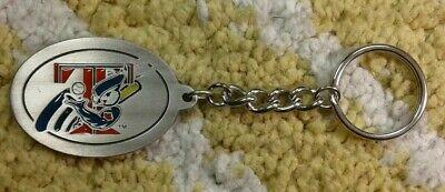 Toronto Blue Jays MLB baseball Pewter Keychain Keyring 2003 T-Bird logo HTF NOS ](T Bird Logo)