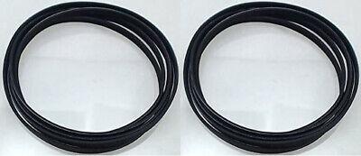 2 Dryer Drum Belt 6602-001655 for Samsung DV210AEW/XAA, DV45H7000E, DV448AGP/XAA