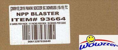 2019 Panini Donruss Soccer EXCLUSIVE Factory Sealed 20 Box Blaster CASE-OPTICS!