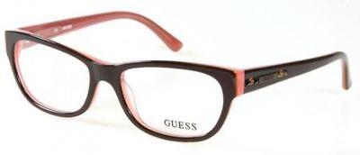 NEW ORIGINAL GUESS GU 2344 BRN Brown Women's Eyeglasses 53mm 16 135
