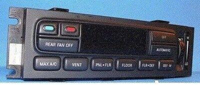 98-2002 LINCOLN TOWN CAR DIGITAL EATC AC HEATER CONTROL XW1H19C933AC