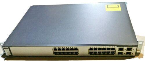 Cisco Ws-c3750g-24ts-s1u 24-port Gigabit Ethernet Switch Catalyst 3750g Series