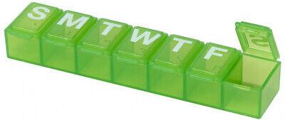 7 Day Tablet Pill Box Holder Weekly Medicine Storage Organiz