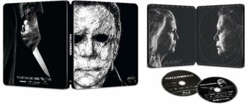 Halloween Limited Edition Steelbook (4k Ultra HD/Blu-Ray/Digital) Sealed NEW