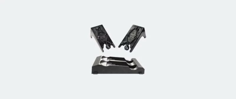 SecureIt Dual Cradle and Stock Base Vertical Kit