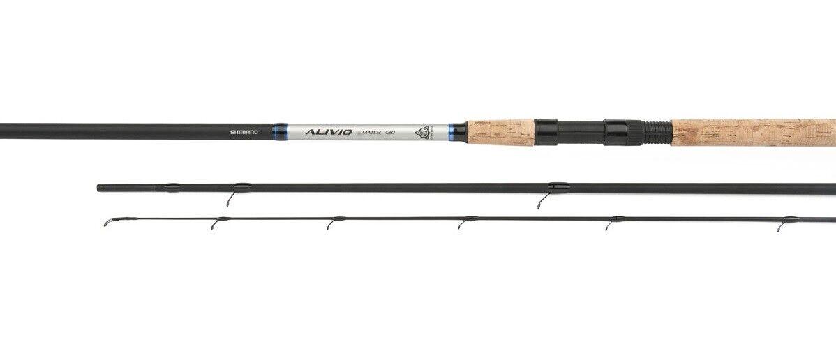 Shimano Alivio CX Match Posenrute Matchrute Forellenrute 3,60m / 3,90m / 4,20m