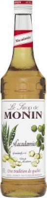 Monin Sirup Macadamia-Nuss, 700ml Flasche