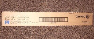 Xerox Cyan Toner Cartridge 006r01222 Docucolor 240 250 242 252