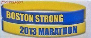 2013-BOSTON-STRONG-MARATHON-RUBBER-WRISTBAND-BRACELET-FUNDRAISER-ONE-FUND-FREE-S